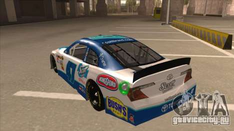 Toyota Camry NASCAR No. 47 Scott для GTA San Andreas вид сзади