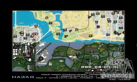 GTA V atlas map для GTA San Andreas