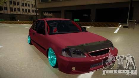 Honda Civic EK9 Drift Edition для GTA San Andreas вид слева