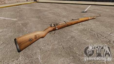 Магазинная винтовка Mauser Karabiner 98k для GTA 4 второй скриншот