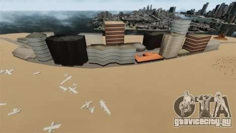 Локация Deserted City для GTA 4 второй скриншот