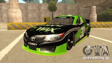 Toyota Camry NASCAR No. 30 Widow Wax для GTA San Andreas