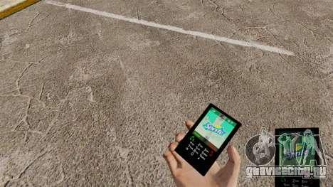 Тема для телефона Sprite для GTA 4