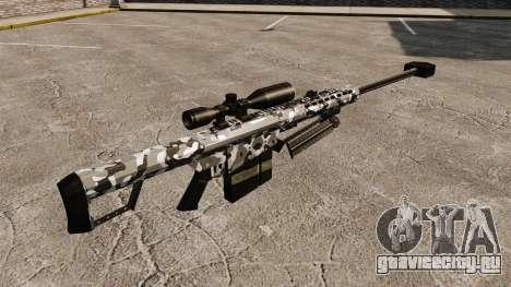 Снайперская винтовка Barrett M82 v15 для GTA 4 второй скриншот