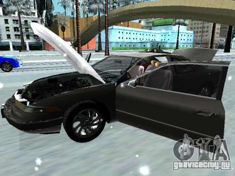 Lincoln Continental Mark VIII 1996 для GTA San Andreas вид слева