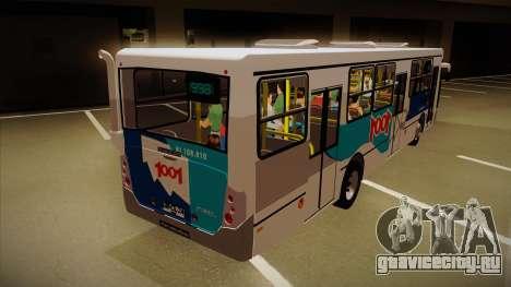 Busscar Urbanuss Pluss 2009 для GTA San Andreas вид справа