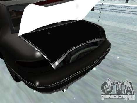 Lincoln Continental Mark VIII 1996 для GTA San Andreas вид сверху
