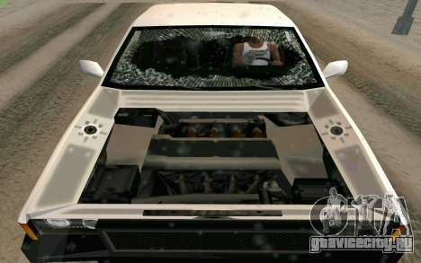 Blista Compact Type R для GTA San Andreas вид сверху