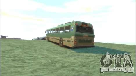 Bus из GTA 5 для GTA 4 вид сзади слева