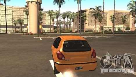 Fiat Bravo 16v для GTA San Andreas вид справа