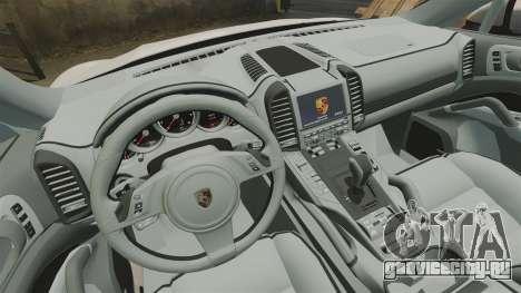 Porsche Cayenne Turbo 2012 v3.5 для GTA 4 вид изнутри