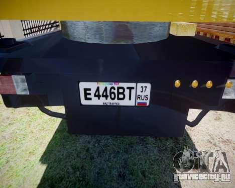 МАЗ 500 КС3577-4-5 Частник для GTA 4 вид справа
