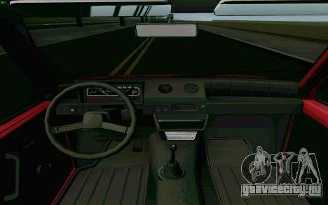 КамАЗ Ока для GTA San Andreas вид изнутри