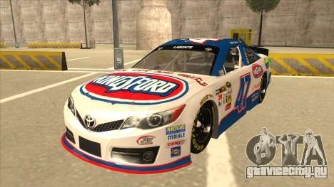Toyota Camry NASCAR No. 47 Kingsford для GTA San Andreas