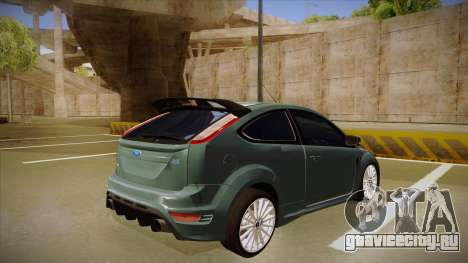 Ford Focus RS 2010 для GTA San Andreas вид справа