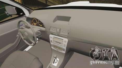 Toyota Hilux Croatian Police v2.0 [ELS] для GTA 4 вид сбоку