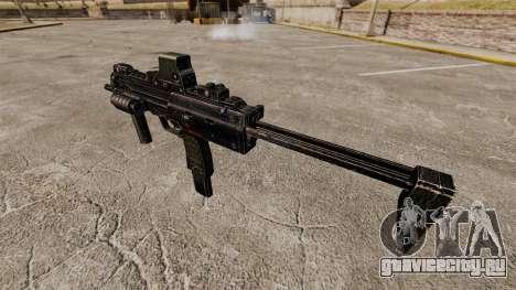 Пистолет-пулемёт HK MP7 v1 для GTA 4 четвёртый скриншот