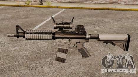 Автоматический карабин М4 CQBR v2 для GTA 4 третий скриншот