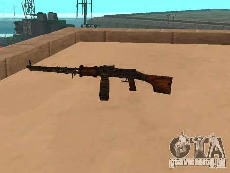 Ручной пулемёт Дегтярёва (РПД) для GTA San Andreas второй скриншот