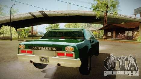 Fasthammer для GTA San Andreas вид справа