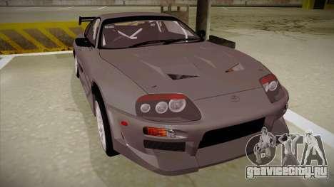 Toyota Supra RZ для GTA San Andreas вид слева