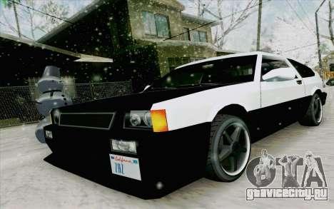 Blista Compact Type R для GTA San Andreas вид слева