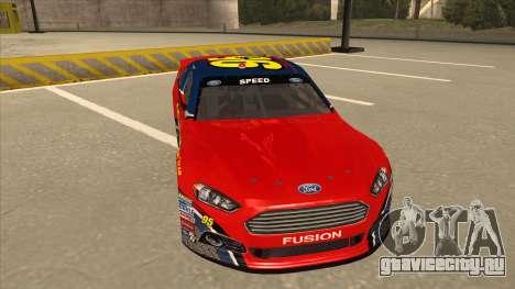Ford Fusion NASCAR No. 95 для GTA San Andreas вид слева