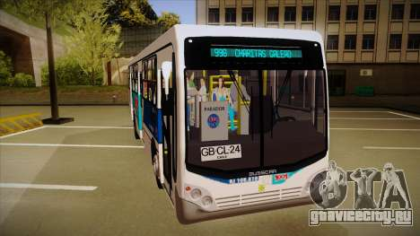 Busscar Urbanuss Pluss 2009 для GTA San Andreas вид слева