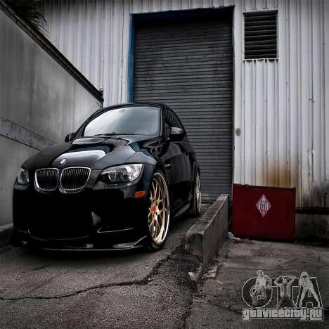 Загрузочные экраны BMW для GTA 4 восьмой скриншот