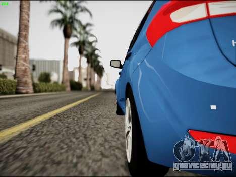 Hyundai ix20 для GTA San Andreas вид справа
