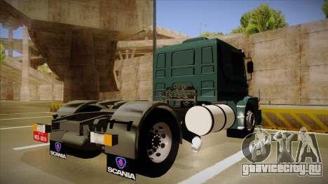 Scania 113H для GTA San Andreas вид справа