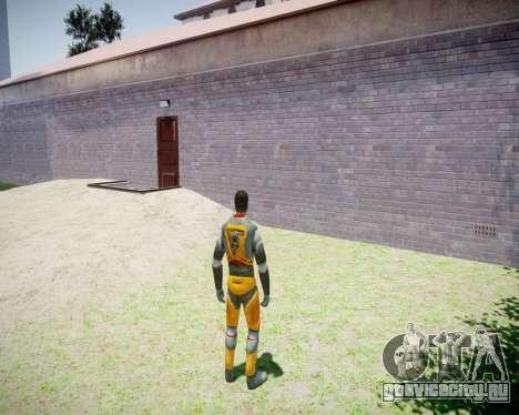 Gordon Freeman для GTA 4 седьмой скриншот