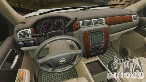 Chevrolet Tahoe Slicktop [ELS] v1 для GTA 4 вид сзади