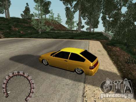 ВАЗ 21123 для GTA San Andreas вид справа