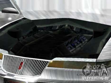 Lincoln Continental Mark VIII 1996 для GTA San Andreas вид справа