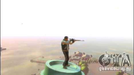 Снайперская Винтовка Драгунова для GTA 4 третий скриншот