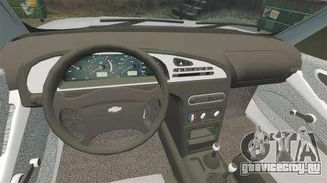 ВАЗ-2123 v1.1 для GTA 4 вид изнутри