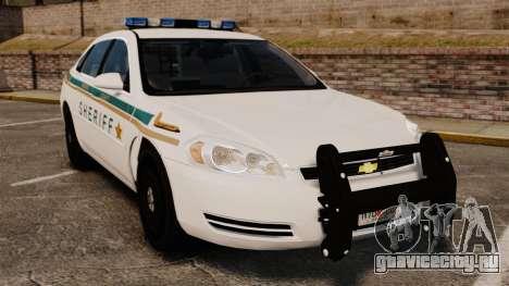 Chevrolet Impala BCSD 2010 [ELS] для GTA 4