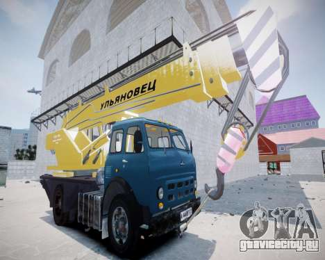 МАЗ КС3577-4-6 Ульяновец для GTA 4 вид слева
