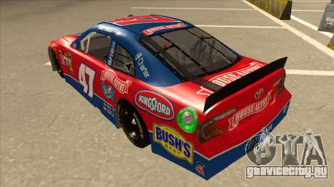 Toyota Camry NASCAR No. 47 House-Autry для GTA San Andreas вид сзади