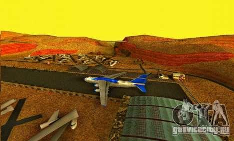 Andromada GTA V для GTA San Andreas вид слева
