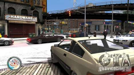 Map-Radar-HUD Pack для GTA 4 шестой скриншот