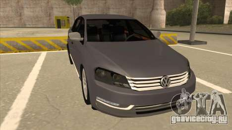 Volkswagen Passat 2.0 Turbo для GTA San Andreas вид слева