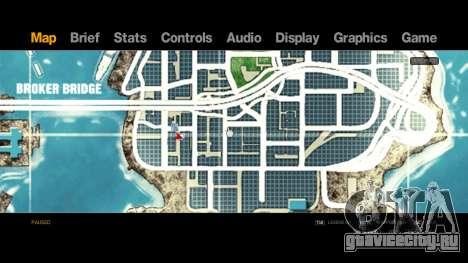 Map-Radar-HUD Pack для GTA 4 третий скриншот