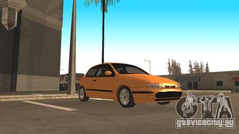 Fiat Bravo 16v для GTA San Andreas вид сзади
