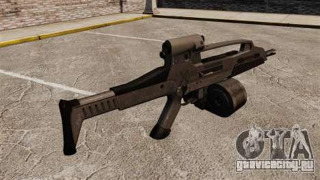 Автомат HK XM8 v3 для GTA 4 второй скриншот