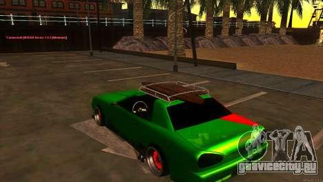 Elegy New Year for JDM для GTA San Andreas вид справа