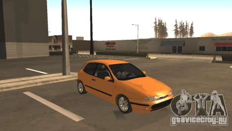 Fiat Bravo 16v для GTA San Andreas вид слева