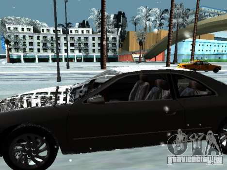 Lincoln Continental Mark VIII 1996 для GTA San Andreas салон