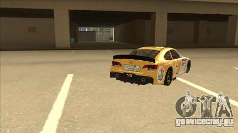 Chevrolet SS NASCAR No. 7 Florida Lottery для GTA San Andreas вид справа